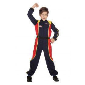 Race Overall Formule 1 Max Jongen Kostuum