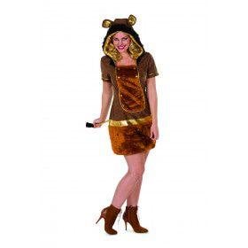 Lekkere Kluif Leeuw Vrouw Kostuum
