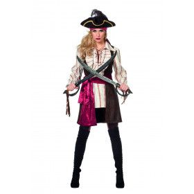 Steek Je Lek Pirate Vrouw Kostuum