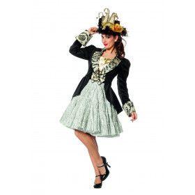 Jas Fluweel Madame De Pompadou Vrouw
