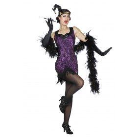 Big Band Flapper Jaren 20 Vrouw Kostuum