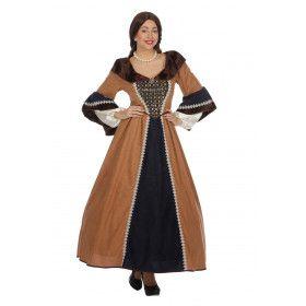 Lady Guinevere Middeleeuwse Burchtvrouwe Kostuum