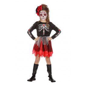 Day Of The Dead Mexico November Meisje Kostuum