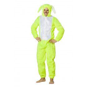 Lekker Opvallende Haas Neon-Geel Kostuum