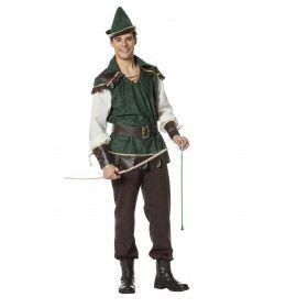 Robin Held Van De Armen In Nottingham Man Kostuum