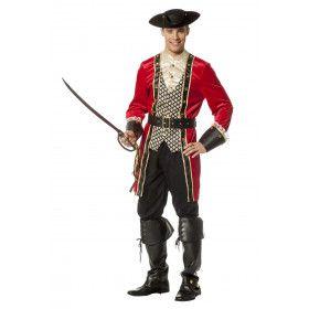 Piraat Bermuda Driehoek Man Kostuum