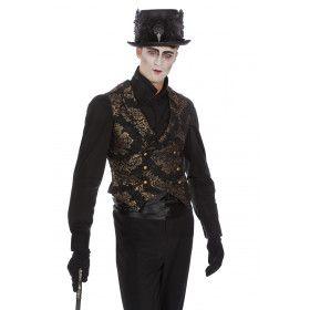Rijk Versierd Renaissance Bankier Vest Man