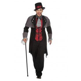 Jas Graaf Hoektand Vampier Man