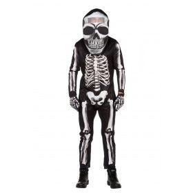 Waterhoofd Skelet Halloween Man Kostuum