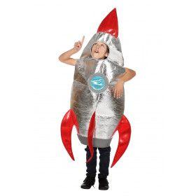 Ruimtevaart Raket Heelal Knaller Kind Kostuum