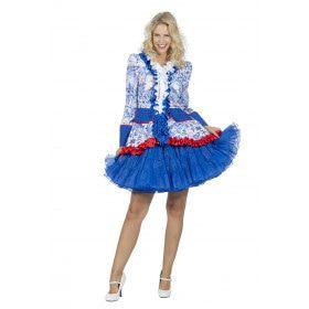 Jas Holland Delftsblauwe Tegels Vrouw