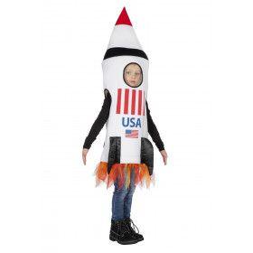 Raket Naar De Maan Nasa USA Kind Kostuum