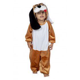 Natte Neus Natte Tong Hond Kind Kostuum