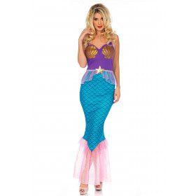 Zalige Zeemeermin Vrouw Kostuum