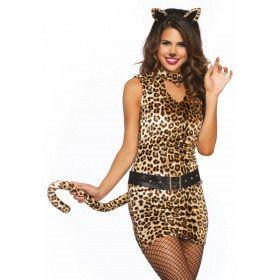Wonderland Pretty Kitty Vrouw Kostuum