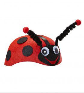 Lieveheersbeestje Hoed Vilt Met Antennes