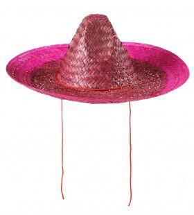 Sombrero Roze 48 Cm