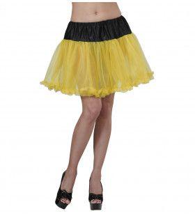 Petticoat Zwart / Geel