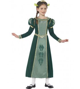 Shrek Prinses Fiona Meisje Kostuum