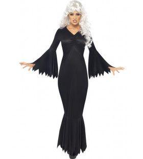 Middernacht Vampier Dame Vrouw Kostuum