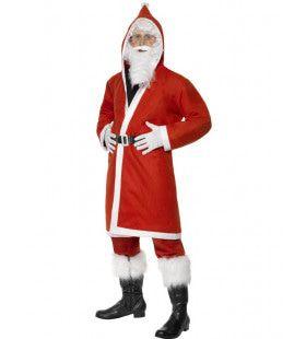 Voordelig Santa Claus Man Kostuum