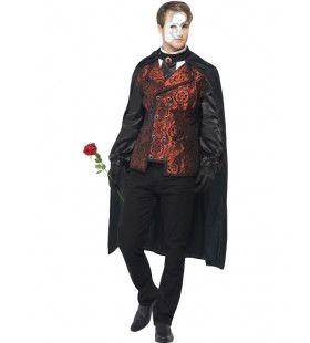 Opera Masquerade Man Kostuum