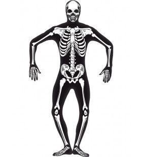 Skelet Second Skin Pak Met Gulp En Opening Bij Nek Man