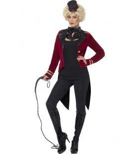 Spannende Circus Directrice Vrouw Kostuum