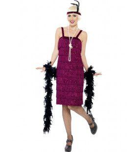 Jazzy Roaring Flapper Vrouw Kostuum