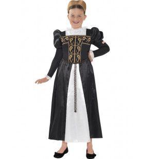 Horrible Histories Queen Mary Van De Schotten Meisje Kostuum