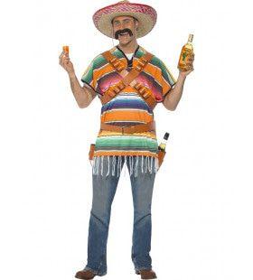 Miguel Tequila Shot Man Kostuum