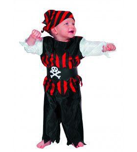 Baby-Bay Piratenjongen Kostuum