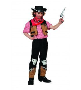 Cowboy Buffalo Bill Jongen Kostuum
