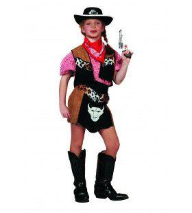 Cowgirl Buffalo Bill Meisje Kostuum