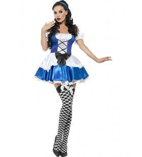 Alice In Sexy Wonderland Vrouw Kostuum