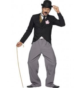 20s Charlie Chaplin Kostuum Man