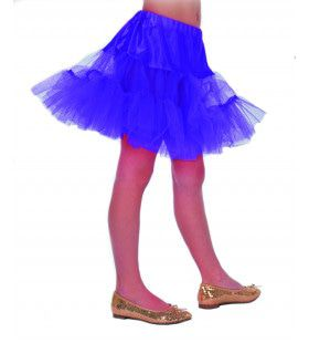 50s Petticoat Lang Paars