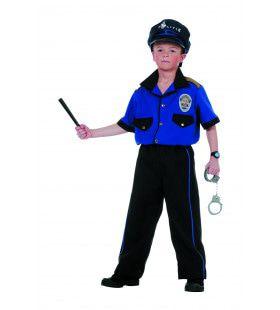 Internationale Politie (Jongen) Kostuum