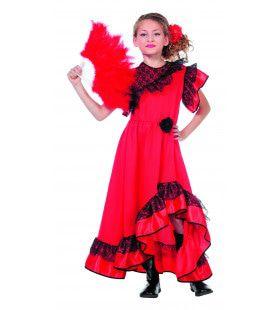 Senorita Carmen Meisje Kostuum