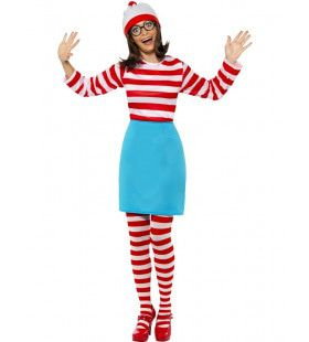 Vrouwen Where Is Wally Vrouw Kostuum