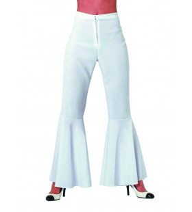 Dancing White Hippie Broek Bi-Stretch