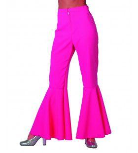 Dancing Pink Hippie Broek Bi-Stretch Vrouw
