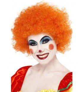 Knettergekke Clown Pruik