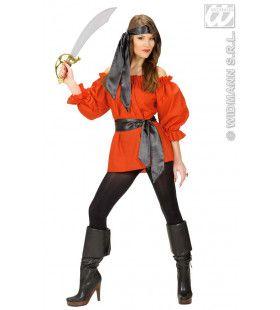 Elegante Blouse Rood Vrouw