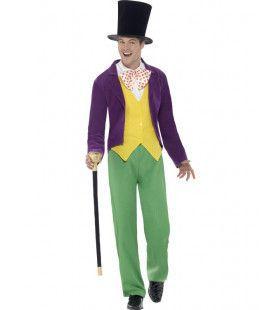 Roald Dahl Willy Wonka Man Kostuum