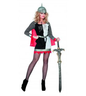 Ridderdame Van De Ronde Tafel Vrouw Kostuum