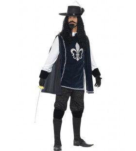 Luxe Musketier Man Kostuum