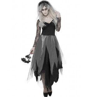 Horrorbruid Vrouw Kostuum
