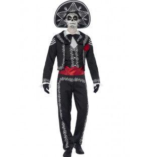 Day Of The Dead Senor Bones Man Kostuum