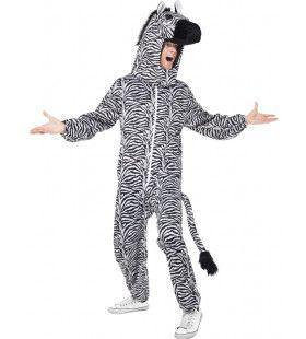Over The Top Zebra Man Kostuum